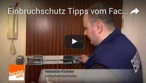 Schlüsseldienst Bochum - Report über Einbruchschutz im WDR