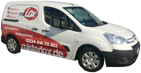 Schlüsseldienst Bochum - mr. Lox Auto inkl. Telefonnummer
